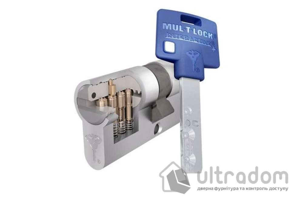 Цилиндр дверной Mul-T-Lock Interactive+ ключ-ключ., 81 мм