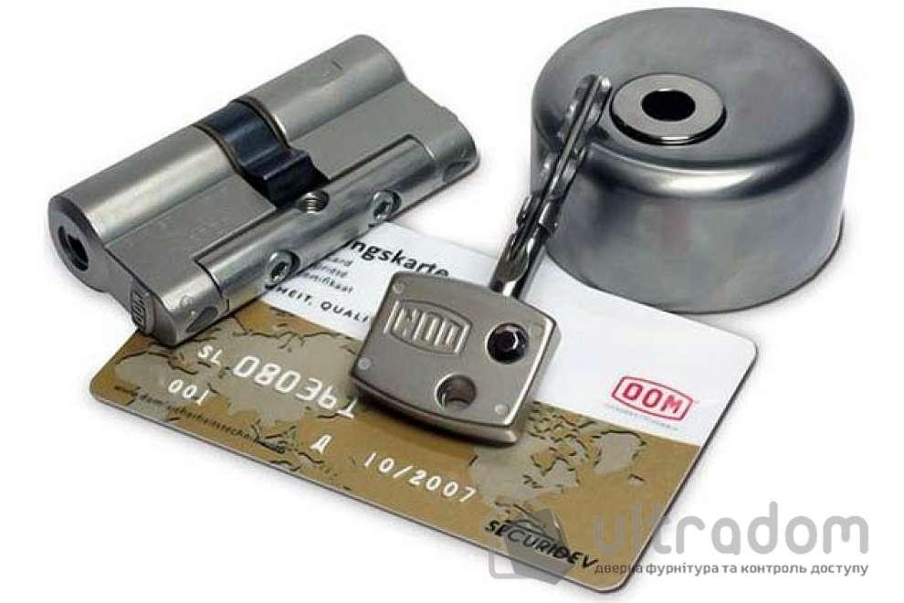 Цилиндр дверной DOM Diamond ключ-ключ 114 мм
