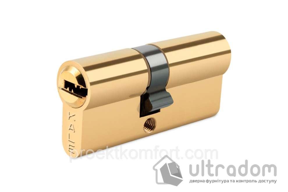 Цилиндр дверной KALE 164  BNE ключ-ключ 76 мм латунь