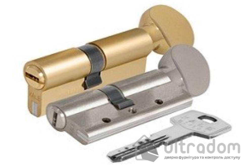 Цилиндр дверной KALE 164 DBNE ключ-вороток 70 мм