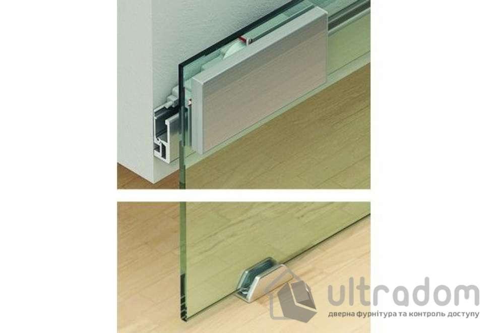 HAFELE дизайнерская раздвижная система для стекла Slido Classic Design 40 - 80V