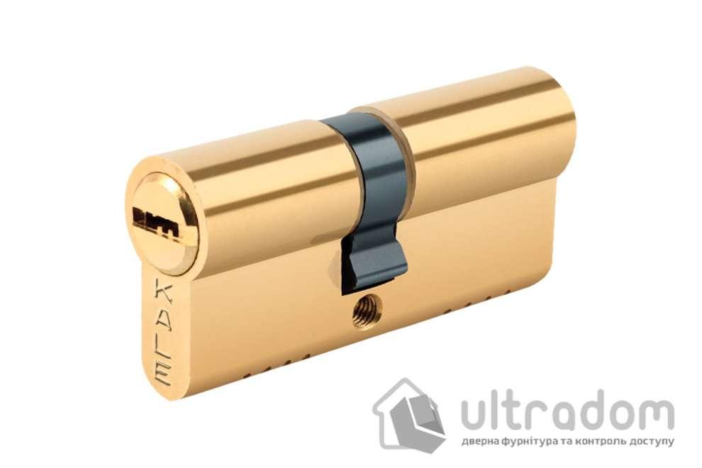 Цилиндр дверной KALE 164 OBS B ключ-ключ 85 мм латунь