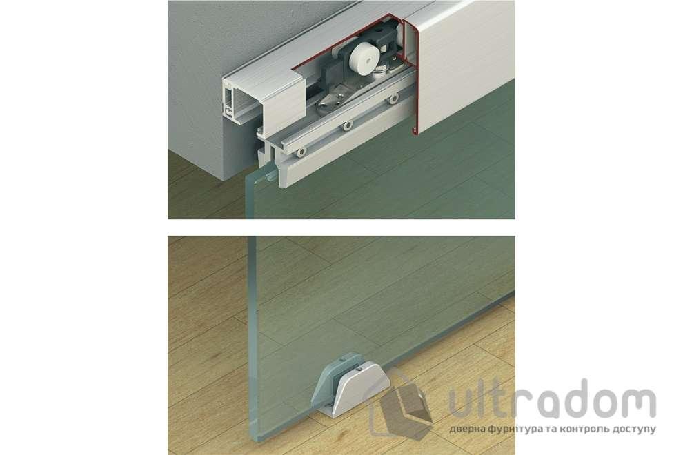 HAFELE раздвижная система для стеклянной двери Slido Classic 40 -120L кг