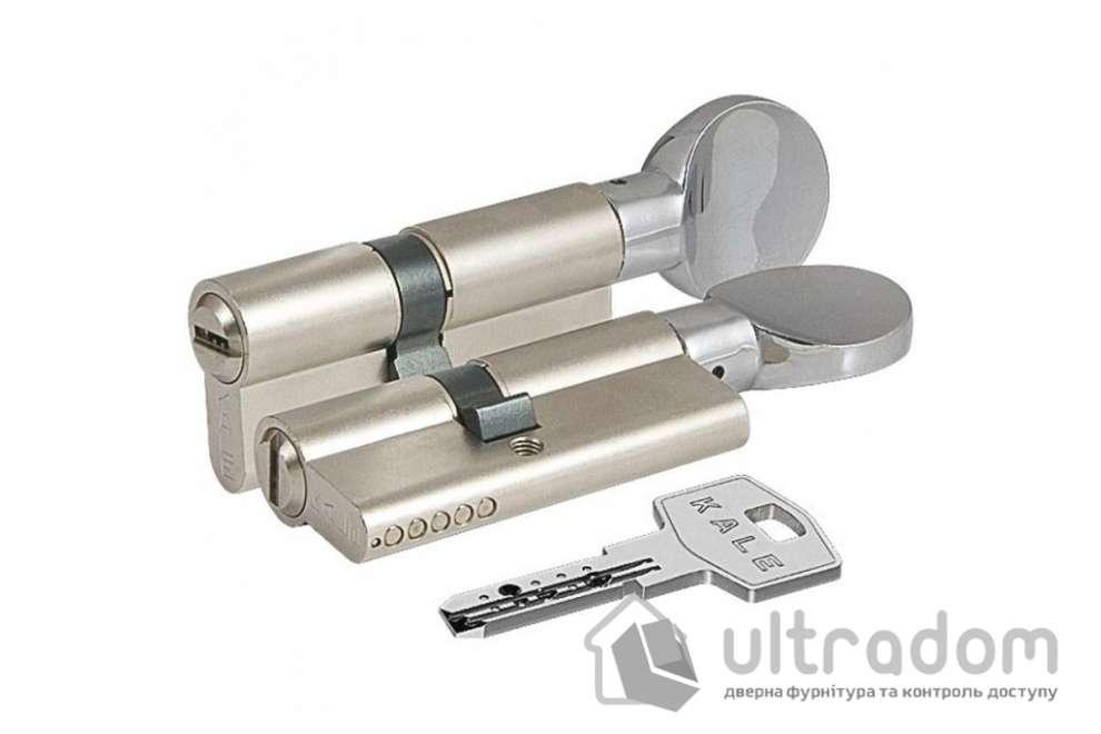 Цилиндр дверной KALE 164  BM ключ-вороток 62 мм