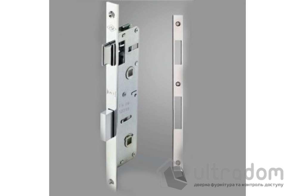 Корпус замка сантехнического с защелкой KALE 269PWC-35 для металлопластиковой двери.