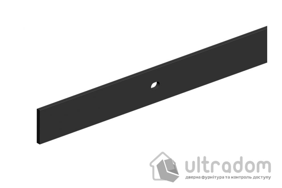 Направляющая рельса 1950 мм Mantion ROC Design в стиле LOFT, матовая чёрная