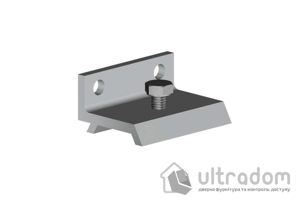 Настенный крепеж для направляющей рельсы Valcomp H2 , дверь до 25 мм.