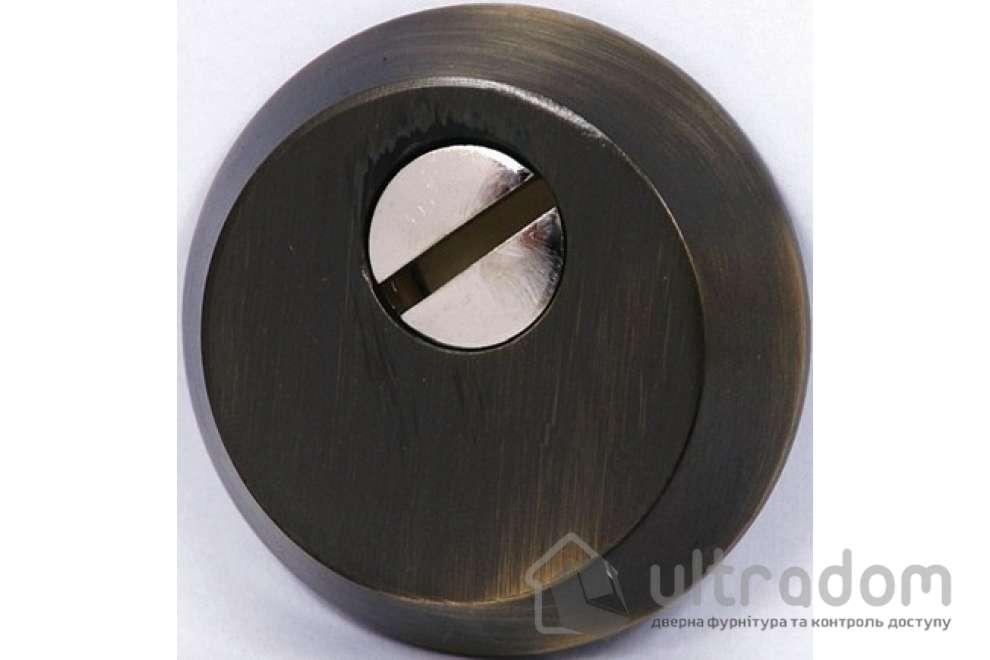 Броненакладка для цилиндра SIBA S400 AB, античная бронза