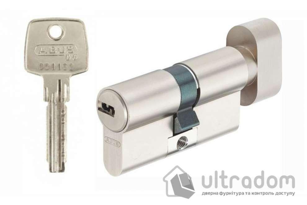 Цилиндр Abus KD6  ключ-вороток 65  мм никель