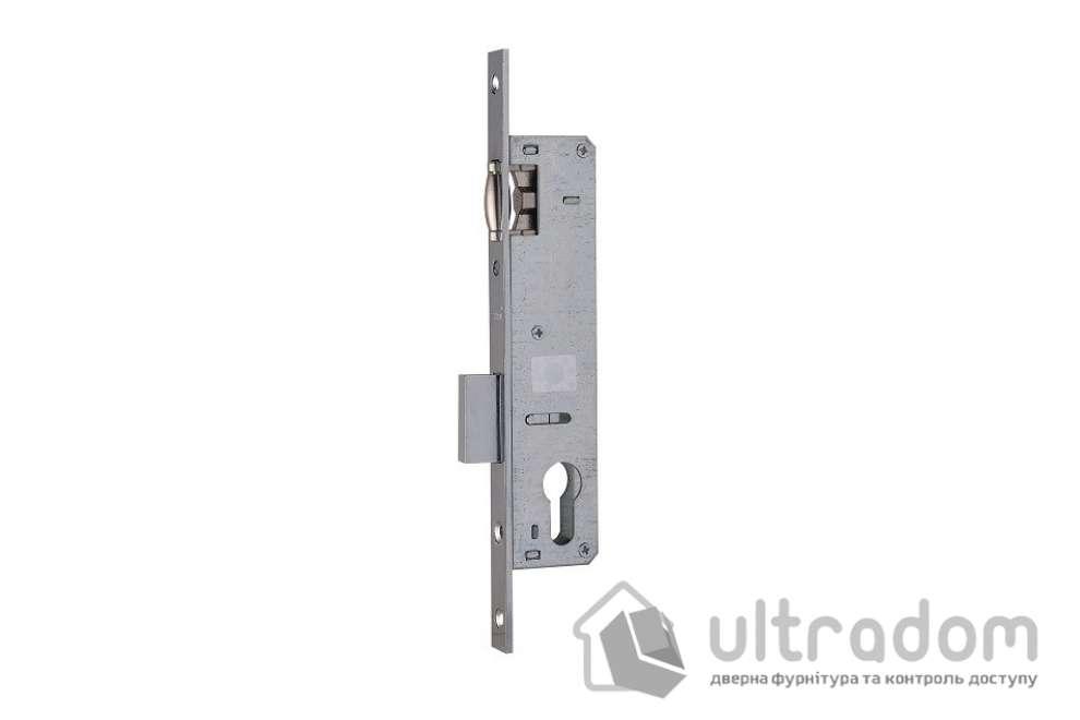 Корпус замка с роликом SIBA 10055P-25 для металлопластиковой двери.