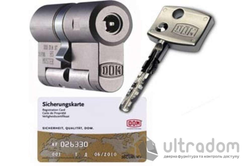 Цилиндр дверной DOM Diamond ключ-ключ 64 мм
