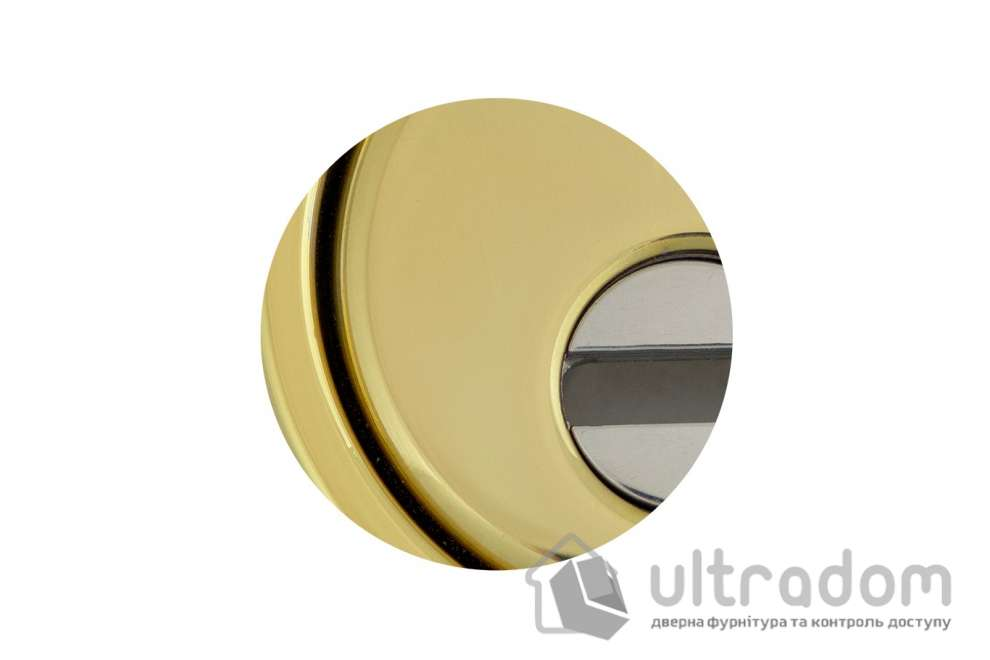 Протектор защитный DISEC  BD260 MONOLITO MILANO KRIPTON 3 класс 25 мм латунь полированная