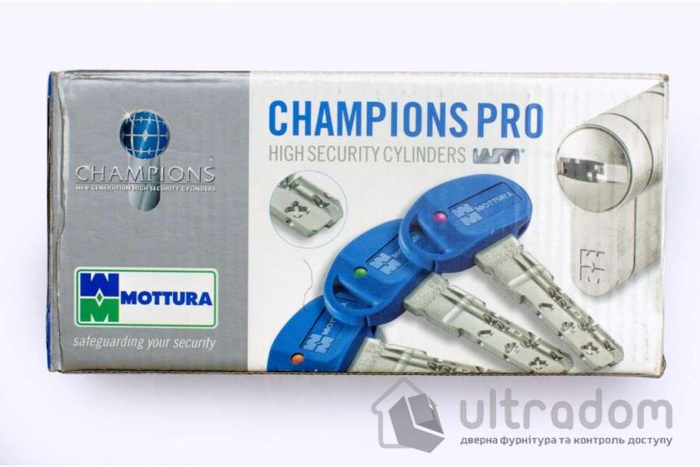 Цилиндр дверной MOTTURA Champions PRO ключ-ключ 87 мм