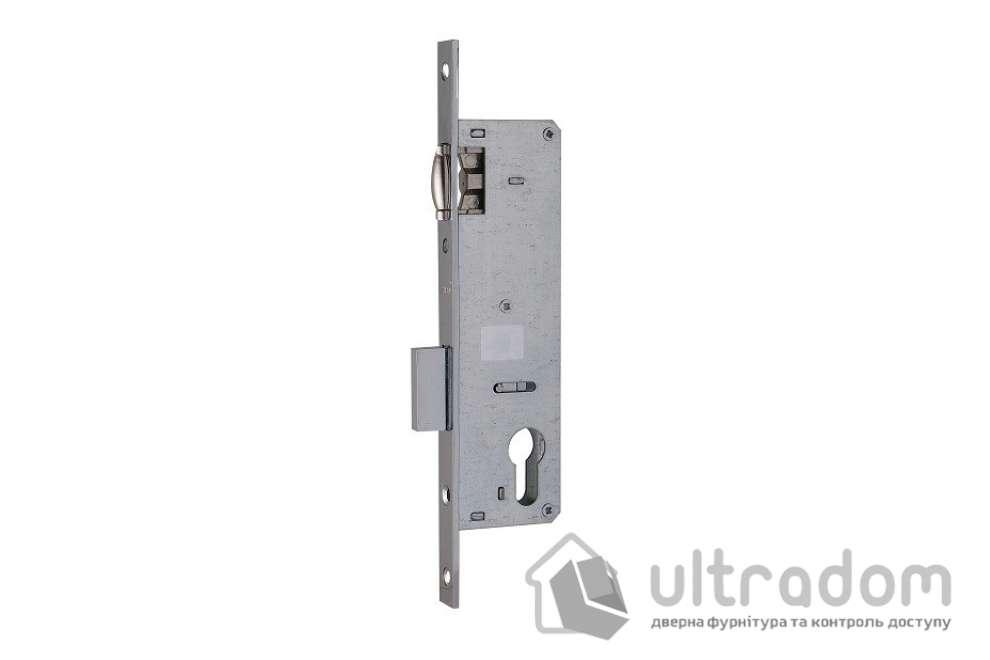 Корпус замка с роликом SIBA 10055P-35 для металлопластиковой двери.