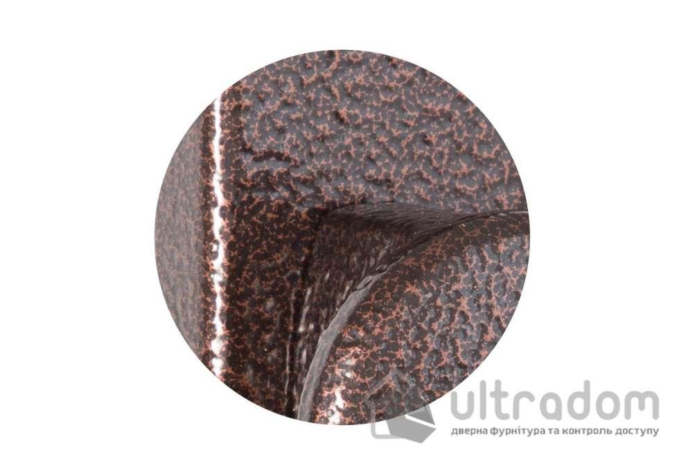 Фурнитура защитная ROSTEX 802 Knob 3 класс  меж. ось 72 мм коричневый