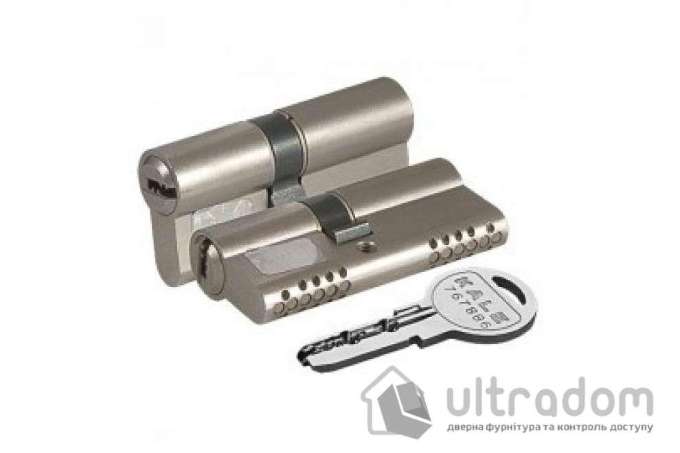Цилиндр дверной KALE 164 OBS B ключ-ключ 70 мм никель