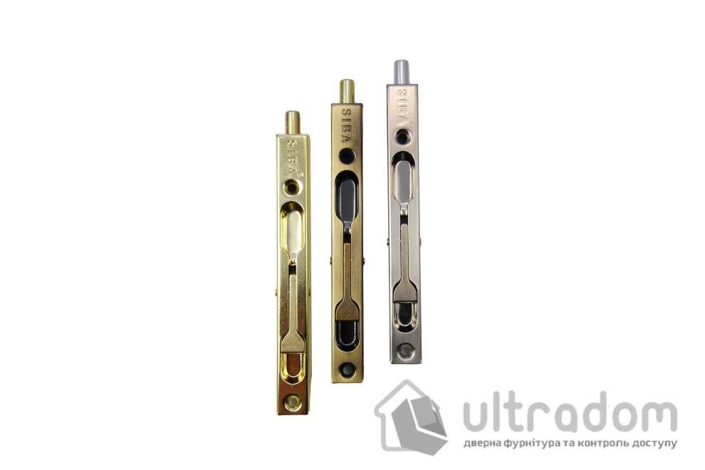 SIBA Торцевой перекидной шпингалет 140 мм AB античная бронза