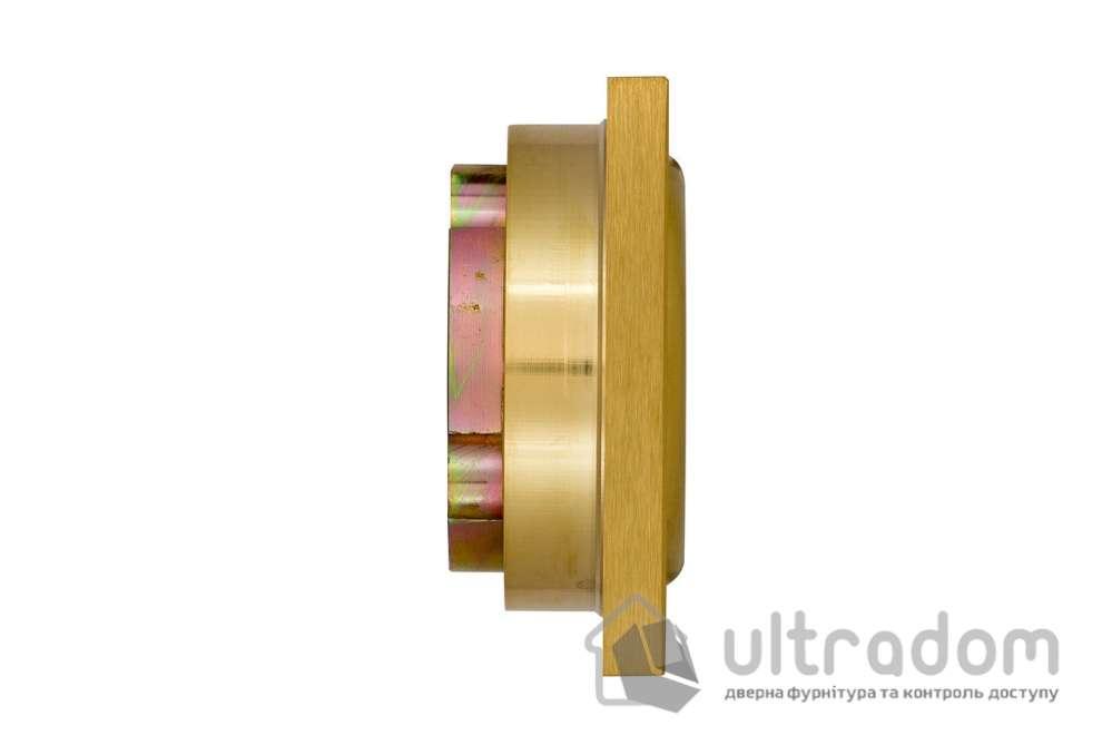 Протектор защитный DISEC  BD200 MONOLITO SFERIK 3 класс 25 мм латунь матовая