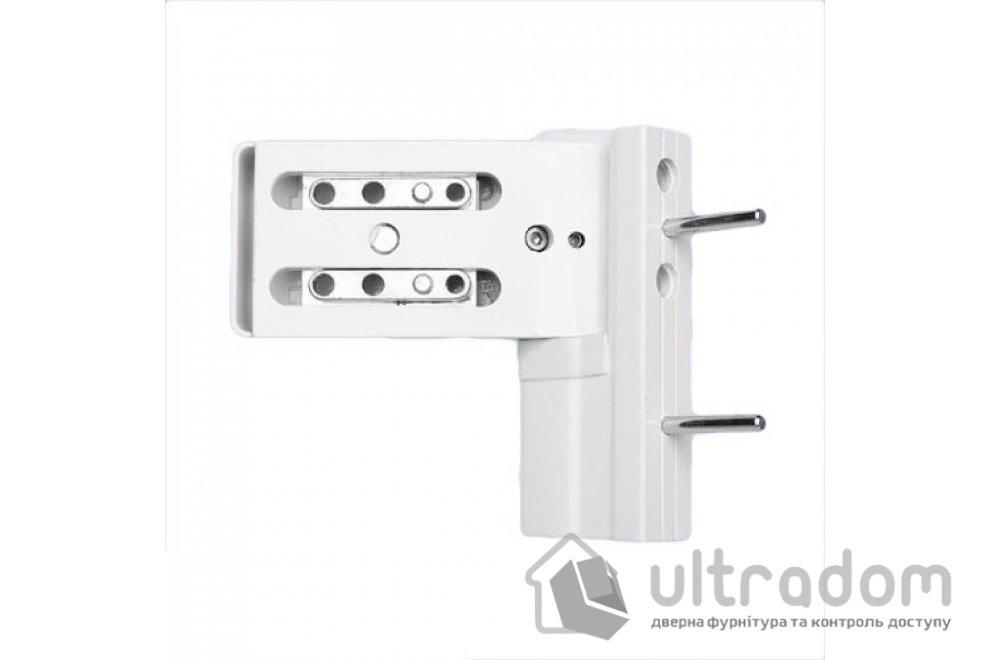 Дверная петля DHV 3D для ПВХ двери белая