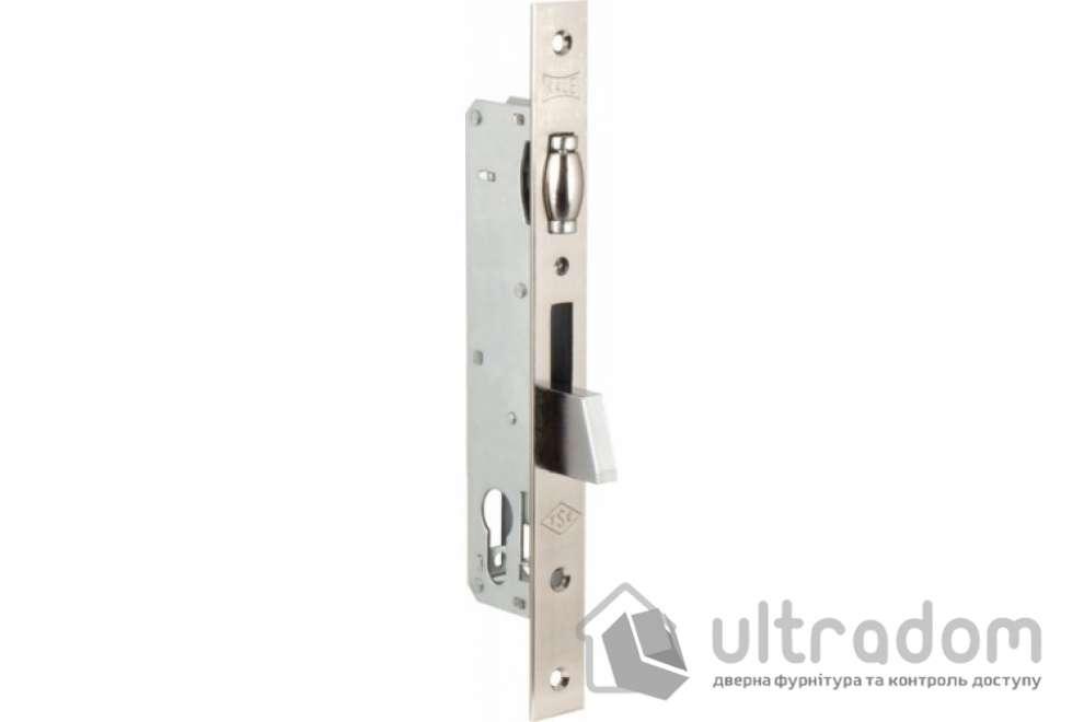 Корпус замка с роликом KALE 255-25 для алюминиевой двери.