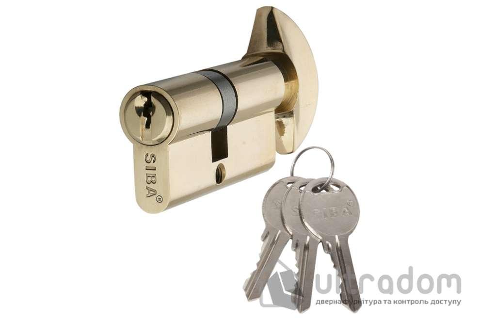 Цилиндр дверной SIBA английский ключ-вороток 60 мм