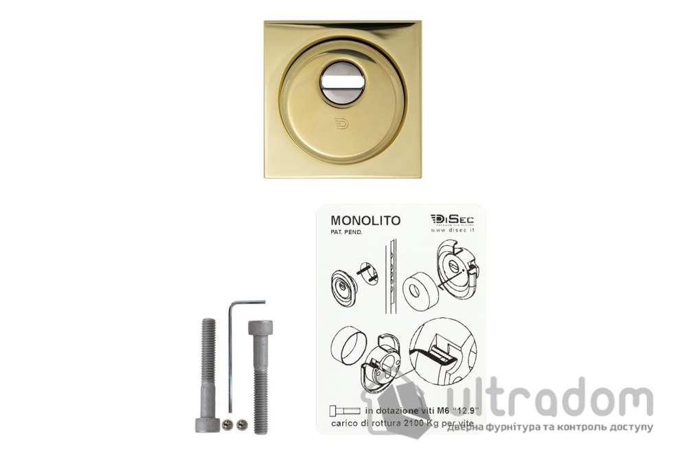 Протектор защитный DISEC  BD200 MONOLITO SFERIK 3 класс 25 мм латунь полированная