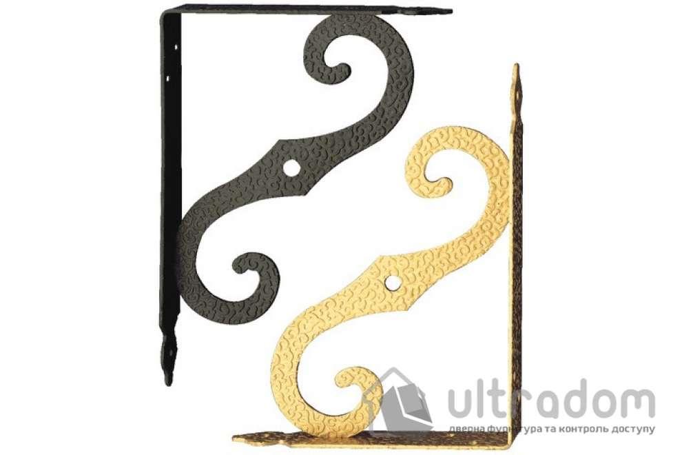 Кронштейн декоративный Amig m.2 цвет - золото