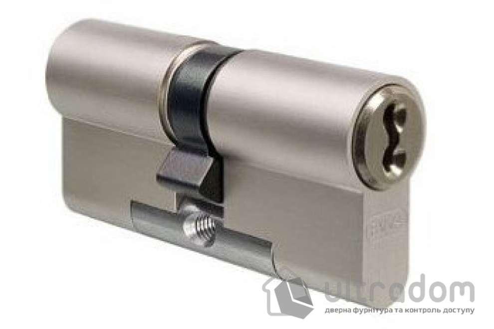 Цилиндр дверной EVVA 3 KS DZ кл-кл., никель 77 мм
