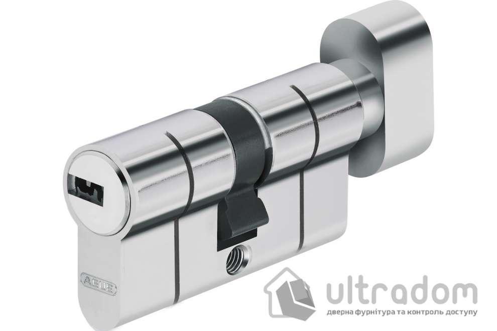 Цилиндр Abus KD6PS  ключ-вороток 100  мм никель  матовый