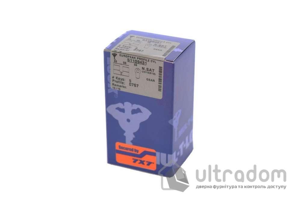 Цилиндр дверной Mul-T-Lock 7x7 кл-кл., 95 мм
