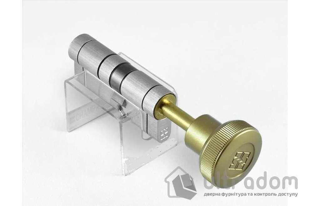 Цилиндр дверной MOTTURA Champions PRO ключ-вороток 77 мм 46x31T