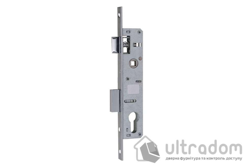 Корпус замка с защелкой SIBA 10053P-20 для металлопластиковой двери.