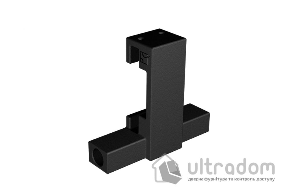 Комплект фурнитуры раздвижной системы Mantion THOR в стиле LOFT, матовая чёрная