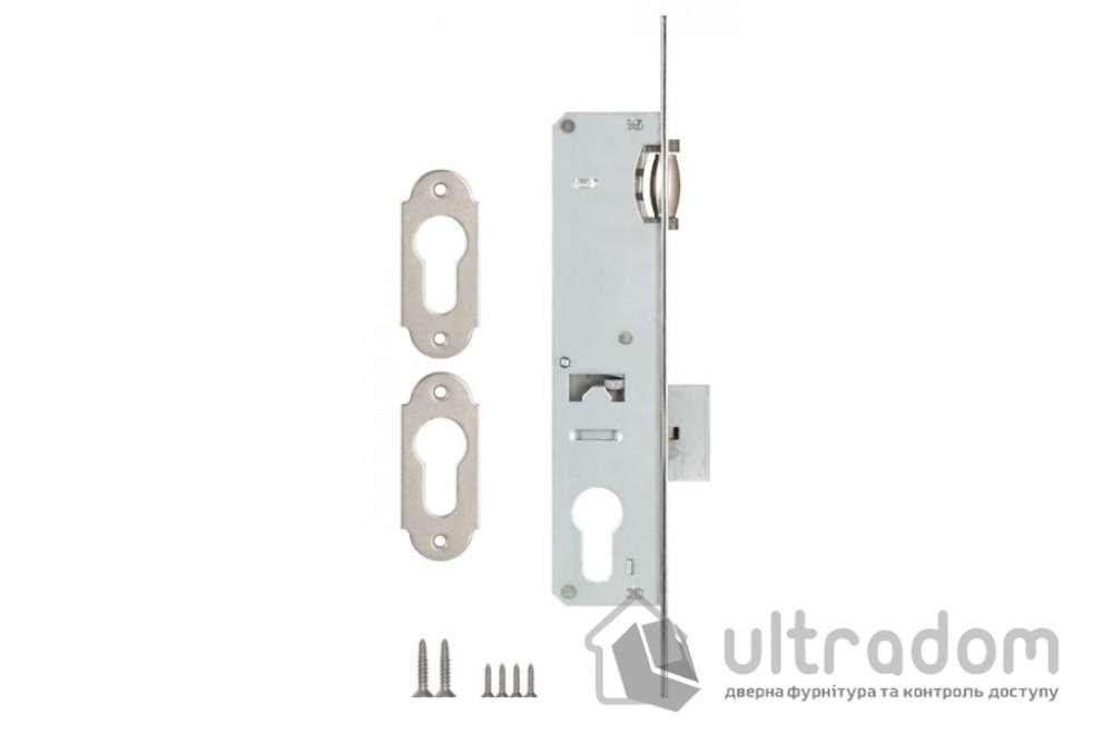 Корпус замка с роликом KALE 155P-20 для металлопластиковой двери.