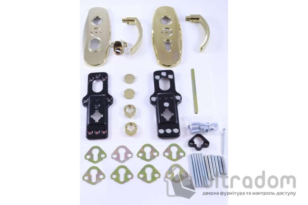 Фурнитура защитная  MUL-T-LOCK Platinum 3 класс 90 мм латунь