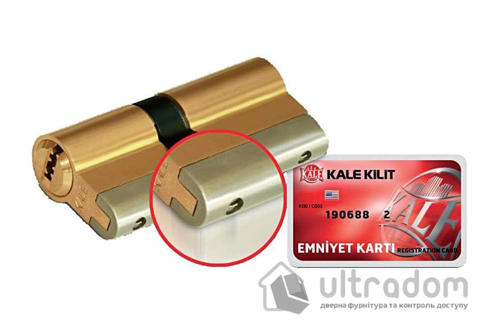 Цилиндр дверной KALE 164 YGS ключ-вороток 68 мм