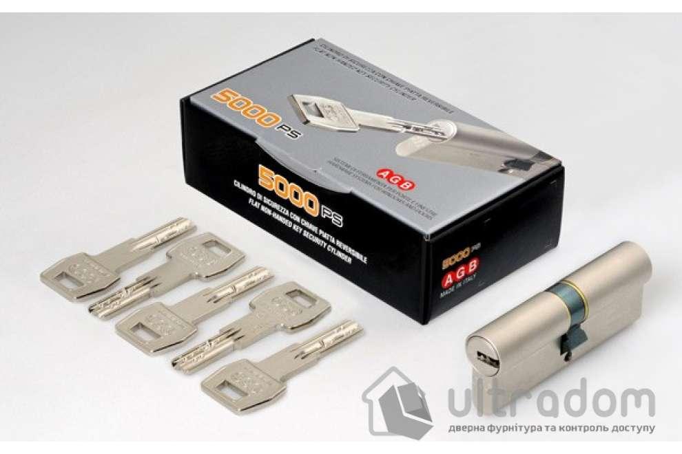 Цилиндр дверной AGB SCUDO 5000 PS ключ-ключ 65 мм