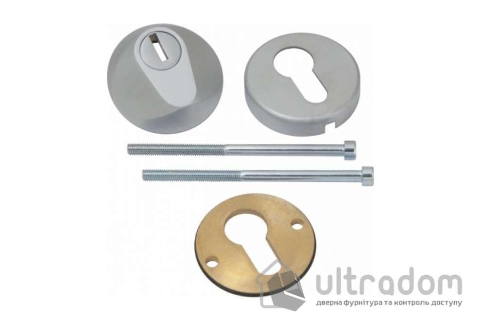 Броненакладка для цилиндра AGB TENAX, матовый хром