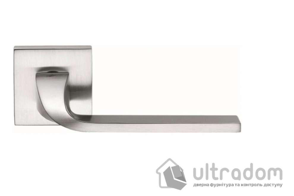 Дверная ручка COLOMBO ISY BL 11 матовый хром (роз. 6 мм)