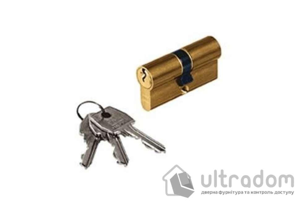 Цилиндр дверной с простым ключом AGB SCUDO 600 ключ-ключ 90 мм