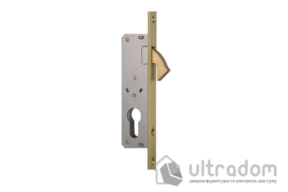 Замок - краб, цилиндровый, SIBA 10201-20 для раздвижных дверей