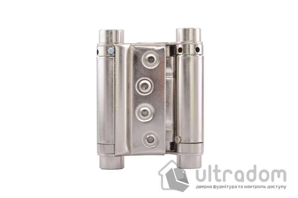 Петля маятниковая MERT №29 75/95 мм, цвет - никель
