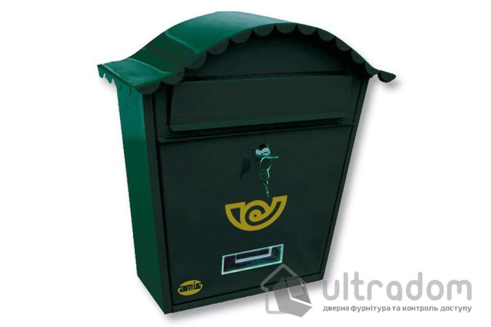 Почтовый ящик Amig m.1, цвет - зелёный