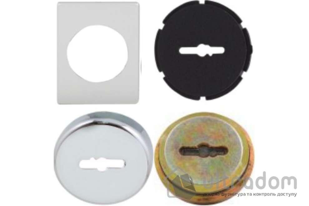 Securemme Комплект броненакладк для  сувальдного замка (квадратная)