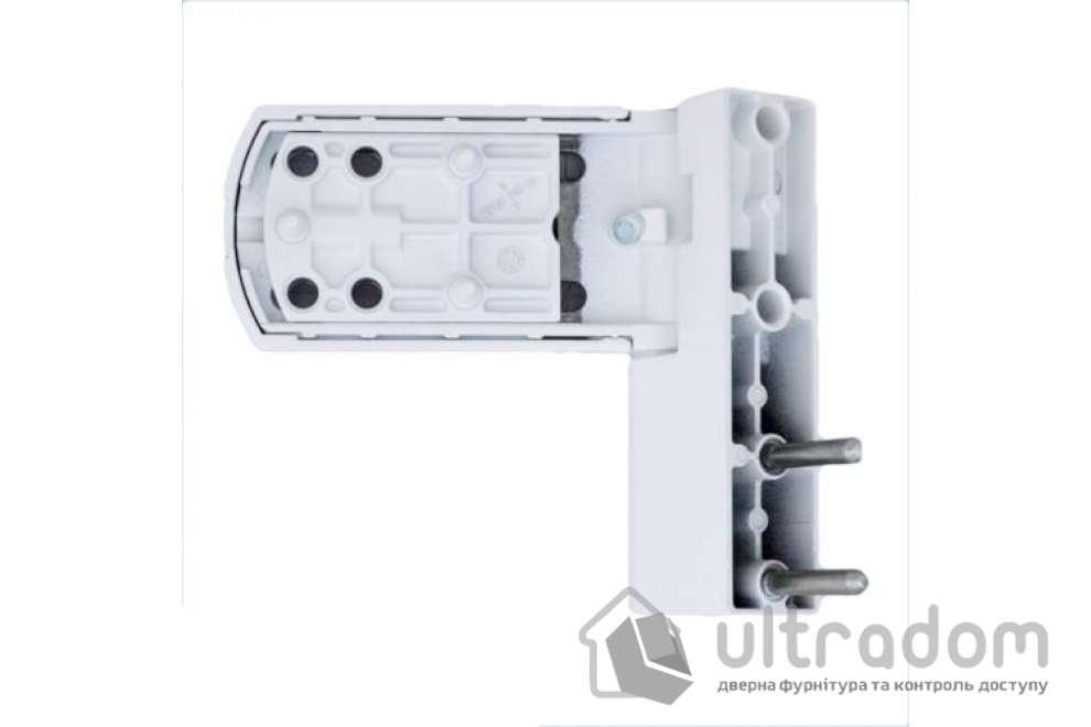 Дверная петля AFC 3D AT27 для ПВХ двери белая