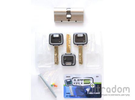 Цилиндр дверной Mul-T-Lock MT5+ ключ-ключ., 62 мм