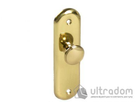 AMIG Латунная дверная ручка-скоба мод.24 125*34 мм