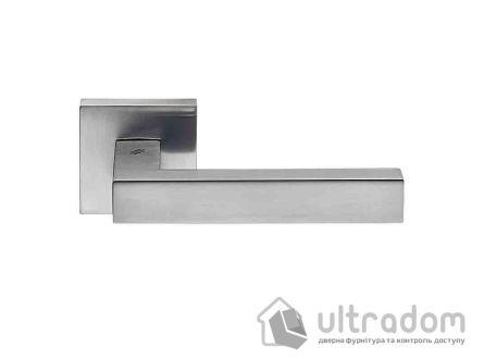 Дверная ручка COLOMBO Ellesse матовый хром (роз 6мм)