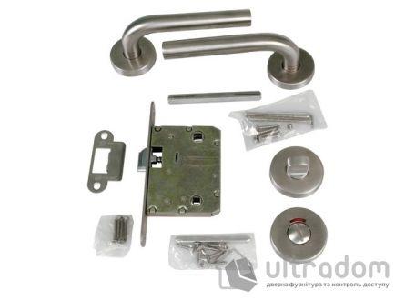 AMIG Комплект замка санузлового с индикатором занятости Kit BETA из н\с