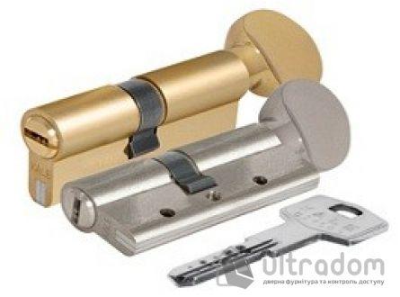 Цилиндр дверной KALE 164 DBNE ключ-вороток 80 мм